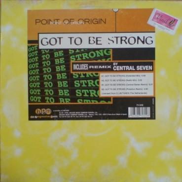 Point Of Origin - Got To Be Strong(2 MANO,NUEVECITO¡¡¡ MENUDA JOYA¡¡¡¡)