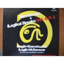 Ilogik & Bazooka Joe / Ilogik & M. Ramone - Elasticman & Ilogikal Breaks Vol. E.P. 2(HARDHOUSE UK,SONIDO LIMITE¡¡)