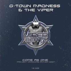 G-Town Madness & The Viper - Come As One(2 MANO,TEMÓN SELLO VIPER BEATZ)