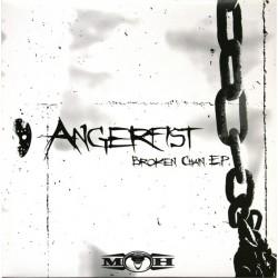 Angerfist - Broken Chain EP(2 MANO,BUSCADISIMO¡¡ DISCO COMO NUEVO¡¡)