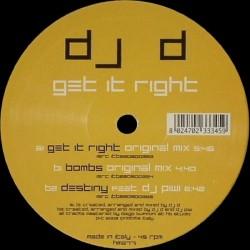 Dj D - Get It Right(HARDCORE BLASTERS)