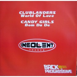 Clublanders / Candy Girls - Back To Progressive E.P.