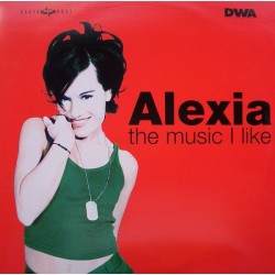 Alexia – The Music I Like (2 MANO,COMO NUEVO)