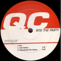 QC - Rite The Party (IMPORT - Clásico Hardhouse-Bumpin¡¡)