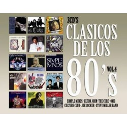 Clasicos De Los 80´s Vol.4