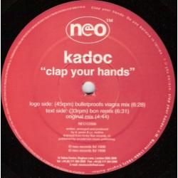 Kadoc – Clap Your Hands(2 MANO,COMO NUEVO)