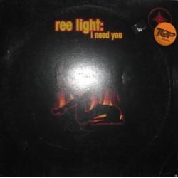 Ree Light – I Need You (2 MANO,VINILO ROJO ORIGINAL,MELODIÓN¡)