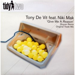 Tony De Vit Feat. Niki Mak – Give Me A Reason(2 MANO,IMPECABLE¡¡¡ COMO NUEVO)