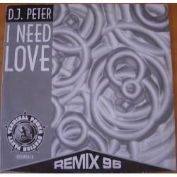 DJ Peter – Terminal Volumen III - I Need Love