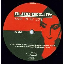 Alice Deejay  - Back In My Life(Pelotazo  99'(