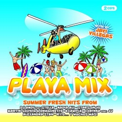 PLAYA MIX -Varios Artists- (DOBLE CD CON TEMAS SUELTOS Y UN MEGAMIX By Javi Villegas)