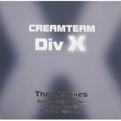 CreamTeam – Div X (The Remixes) COPIA IMPORT NUEVA