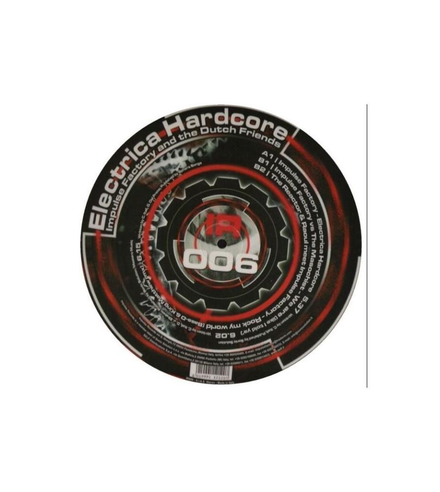 Impulse Factory – Electrica Hardcore (IMPULSE RECORDS,PICTURE DISC)