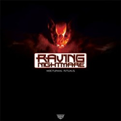 Tommyknocker / DJ Producer, The Featuring MC Justice – Raving Nightmare - Nocturnal Rituals (2 MANO,TRASTAZO HARDCORE¡¡)