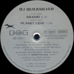 DJ Quicksilver – Planet Love (EDICION ALEMANA NUEVA)