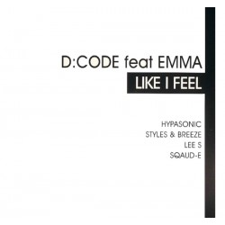 D CODE Feat Emma – Like I Feel (TEMAZO PRODUCIDO POR HYPASONIC)