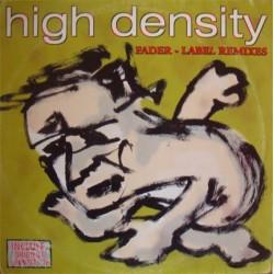 High Density  - Fader / Label (Remixes)