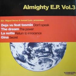 Miguel Serna & Ismael Lora – Almighty E.P. Vol.3 (2 MANO,TEMAZOS REMEMBER)