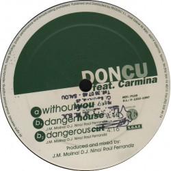 Don Cu feat. Carmina  – Without You (2 MANO,SELLO PRODISC¡¡)