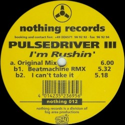Pulsedriver III – I'm Rushin(PELOTAZO COLISEUM,NUEVO¡¡¡¡)