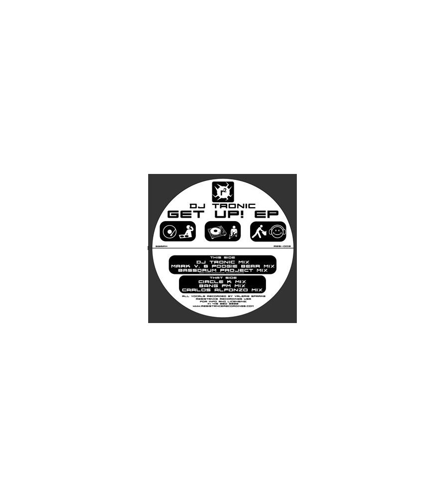 DJ Tronic – Get Up EP (2 MANO,COPIA IMPORT)