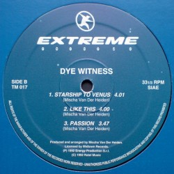 Dye Witness  – Observing The Earth(2 MANO,TEMAZO REMEMBER¡¡)