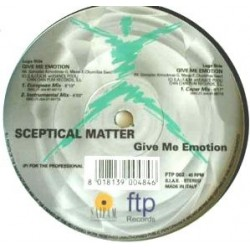 Sceptical Matter - Give Me Emotion (VINILO ORIGINAL¡¡)
