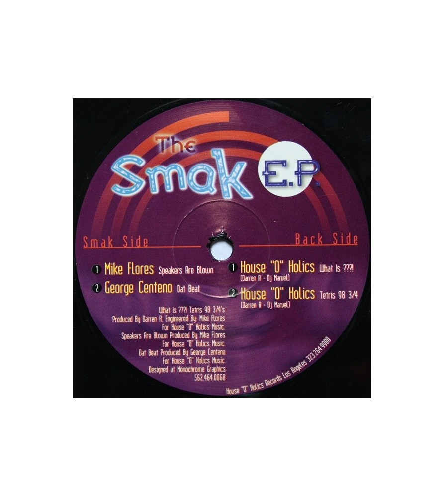 The Smak EP(2 MANO,TEMAZOS AMERICANO¡¡)