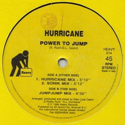 Hurricane  – Power To Jump(2 MANO,COMO NUEVO.TEMAZO DEL 94 MUY BUSCADO¡¡)