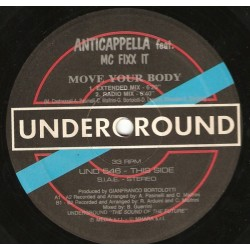 Anticappella Feat. MC Fixx It – Move Your Body (TEMAZO REMEMBER DEL 94¡¡)
