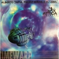 Alberto Tapia &  Pedro Miras  Presents Attica – Timewarp(2 MANO,VINILO ORIGINAL BLANCO¡¡¡ JOYA¡¡)
