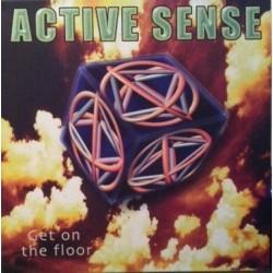 Active Sense – Get On The Floor (BUENA BASE REMEMBER,SELLO SUN RECORDS)