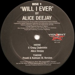 Alice Deejay – Will I Ever(COPIA IMPORT NUEVA,TEMAZO¡¡)