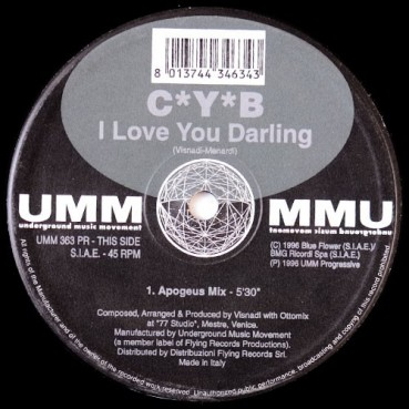 CYB – I Love You Darling (2 MANO,REMEMBER 90'S)