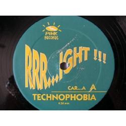 Rrr...ight !!! – Technophobia (PINK RECORDS¡¡)