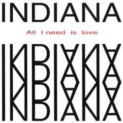 Indiana – All I Need Is Love(2 MANO,TEMAZO SELLO VOLUMEX¡¡)