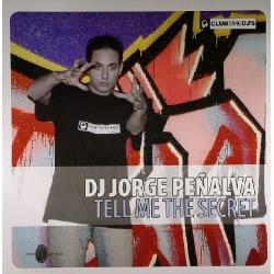DJ Jorge Peñalva – Tell Me The Secret(2 MANO,COMO NUEVO¡)