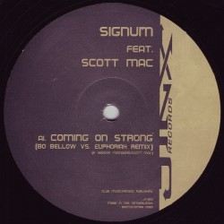 Signum Feat. Scott Mac – Coming On Strong (The Remixes) (2 MANO,COMO NUEVO¡¡)