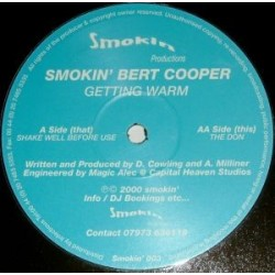 Smokin' Bert Cooper – Shake Well Before Use / The Don(BASUCOS HARDHOUSE¡¡)