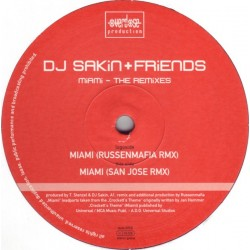 DJ Sakin + Friends – Miami - The Remixes (TEMAZO ROCKOLA,MAÑANITAS¡¡ COPIA IMPORT¡¡)