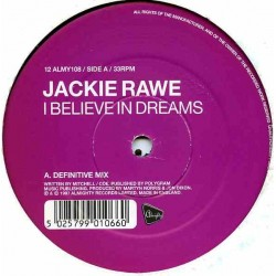 Jackie Rawe - I Believe In Dreams(TEMAZO RADICAL REMEMBER¡¡)