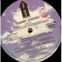 Tommie Jenkins – Let Me Be Your Love (2 MANO,COPIA IMPORT¡¡)