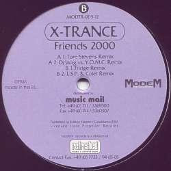 X-Trance – Friends 2000 (MELODIA DEL 2000,MUY BUENA¡)