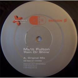 Matt Fulton – Rain Or Shine (VOCAL REVIVALERO DE MUCHA CLASE¡¡)