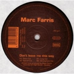 Marc Farris – Don't Leave Me This Way (MELODIA DEL 96)