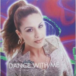 Alexia Phillips - Dance With Me(2 MANO,COMO NUEVO¡¡ TEMAZO ITALO-DANCE¡¡)