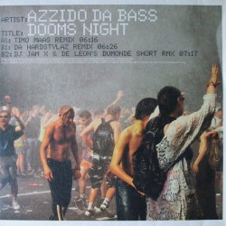 Azzido Da Bass – Dooms Night (2 MANO,CORTE B2 MUY BUENO¡¡)
