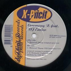 Ceremony X Feat. DJ Enrico – Universal Voyage (2 MANO,MELODIA DEL 98)