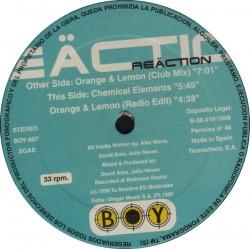 Reaction  – Orange & Lemon (2 MANO,BOY RECORDS¡¡)