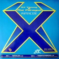 DJ Yanny & The Paragod - Initialize(2 MANO,TEMAZO SELLO FOG AREA AÑO 98¡¡)